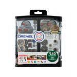 DREMEL EZ LOCK ロータリーアクセサリー70点キット / DREMEL EZ LOCK ACCY 70PC