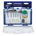 Dremel クリーニング/ポリッシング用セット (684-01) / WHEEL POLISH 20PC DREMEL