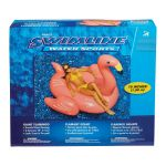 Swimline  フラミンゴ型プール用フロート (90627) / GIANT FLAMINGO RIDE ON