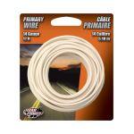 Coleman Cable プライマリーワイヤー 14ゲージ 5.1m (55669033) / WIRE PRIMARY 14GA17' WHT