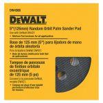DEWALT フック&ループパッド ミディアム  (DW4388) / HOOK & LOOP PAD 5IN