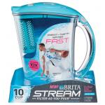 Brita Stream 浄水ピッチャー ブルー (36219) / STREAM WTR PITCHER BLU