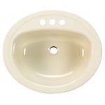 Bootz Azalea 楕円型洗面シンク ベージュ (021-2445-06) /  SINK LAV NA20.25X17-7/16
