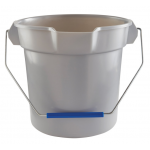 Quickie Bulldozer バケツ グレー 2個入 (2056581) / QUICKIE BUCKET GRAY 10QT