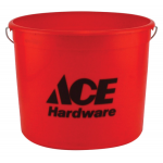 Ace プラスティック製バケツ 12個入 (10QACE12012) / PAIL PAINT 10QT POLY ACE