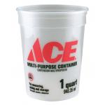 ACE プラスティック製バケツ 25個入 (01QA36MM300) / MULTI-MIX CONTAINER QT