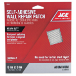 Ace 接着式壁補修パッチ (281567) / ACE WALL REPAIR PATCH6X6