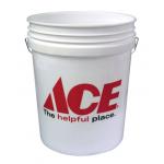 Ace バケツ ホワイト (03GA12ST144)/ PLSTC BUCKET3.5G WHT ACE