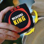 Measure King As Seen On TV 3イン1 デジタル式メジャーテープ (MK-MC12/4) / TAPE MEASURE 3-IN-1 DIG