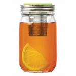 Jarware BALLレギュラーマウスジャー用ティーインヒューザー (82621) / TEA JAR INFUSER LID GRN