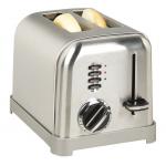 Cuisinart ステンレススティール製2枚用トースター