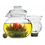 Primula Blossom ガラス製ティーポット