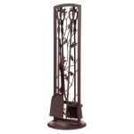 Panacea スティール製暖炉用ツール5点セット (15913) / TOOLSET 5 PC OAK LEAF