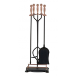 Panacea 暖炉用ツール5点セット アンティークブラス (15006) / FP TOOLSET 5PC ANTIQ BRS
