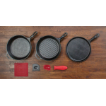 Lodge Essential 鋳鉄製調理パンセット (L6SPA41) / LODGE ESSENTIAL PAN SET