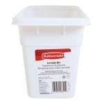 Rubbermaid アイスキューブビン ( 2862-RD-WHT) / ICE BIN 11.5X4.75X6 WHT