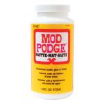 Plaid Mod Podge 超強力接着グルー マット 12本セット (ACEMPM14) / MODPODGE 16OZ MATTE