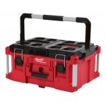Milwaukee PACKOUT 耐衝撃性ツールボックス ラージ (48-22-8425) / PACKOUT LRG TOOLBX 100LB