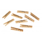 Homz 木製洗濯ばさみ 36個入 (1220216) / SPRING CLOTHESPINS WOOD