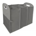 Homz アコーディオン型トリプルランドリー分類ボックス (4506038) / ACCORDION LAUNDRY SORTER