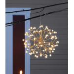 Celebrations Platinum クリスマスデコレーション用LEDライト ウォームホワイト 6個セット (LED-16SHS-GWWPA) /  LED SHIMMER SPHERE WW