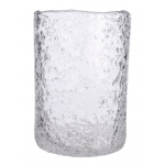 Decoris ガラス製氷風花瓶 (648309) / VASE W/ICE FINISH GLASS