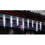 Celebrations つらら型LEDライト10個セット ( 264GV912) / LED MOLD ICE CW 9' 10CT