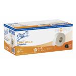 Scott Jumbo Roll Jr. トイレットペーパー 300メートル 4ロール (49156) / TOILET PAPER WHITE 2PLY