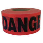 C.H. Hanson バリケードテープ 「 Danger」(19005) /BARRICADE TP DNGR 1000'L
