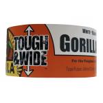 Gorilla Tough & Wide ダクトテープ ホワイト (6025302) / TOUGH & WIDE TAPE 25YD