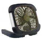 O2 Cool ライト付ポータブルキャンプ用ファン