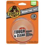 """Gorilla マウントテープ クリアー 6個セット (6036002) / MOUNTING TAPE CLR 1X150"""""""