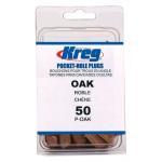 Kreg Wood オークウッドプラグ 50個入 (P-OAK) / OAK WOOD PLUGS 50 CT