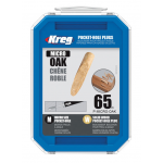 Kreg Micro ラウンドオーク ポケットホールプラグ 65個入 (P-MICRO-OAK) / MICRO PKT-HL PLG 65P OAK