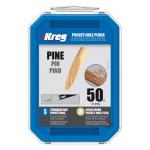 Kreg ラウンドパイン ポケットホールプラグ (P-PIN) / POCKET HOLE PLG PINE 50P