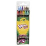 Crayola Twistables 色鉛筆 12色入 (687408) / PENCIL COLORD ASSRD 12PK