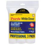 Purdy White Dove ペイントローラーカバー3個入 (14E863000) / ROLLR WHT DOVE 9X3/8 3PK