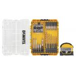 DeWalt メジャーテープ付ドリルドライブ52点セット ( DWAF1245) / DRLL DRV SET+TP MSR 52PC