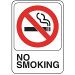 """Hillman 英字サイン 「No Smoking」6枚セット (841770) / SIGN NO SMOKING 5X7"""""""