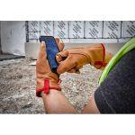 Milwaukee タッチパネル対応革製ワークグローブ XLサイズ ( 48-73-0013) / WORK GLVS GOATSKN SS XL