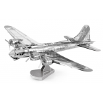 Fascinations Metal Earth B-17 フライングフォートレス(大型戦略爆撃機) 3Dモデルキット (MMS091)/ MODL3D B17 FLYNG FORTRES