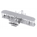 Fascinations Metal Earth ライト兄弟飛行機3Dモデルキット (MMS042) / MODL3D WRIGHT BROS PLANE
