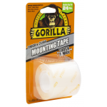 """Gorilla Tough & Clear 両面式取付テープ クリアー 4個セット (104671) / MOUNTING TAPE 48"""" L CLR"""