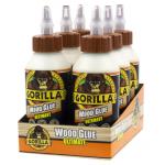 Gorilla 超強力木工接着剤 8オンス 6個セット (104404) / WOOD GLUE LIQUID 8 OZ