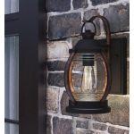 Westinghouse Canyon LEDランタン (63351) / LANTERN FXT LED BLK 60W