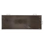 Hillman ラスティック加工木製アドレスプレート 3個セット (848712) / ADDRESS PLATE RUSTC WD