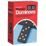Pressman 木製ダブルナインドミノ (JAX162112) / DOUBLE NINE WOODEN DOMIN