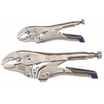 Irwin Vise-Grip カーブプライヤー2点セット (IRHT82590) / CURVED PLIERS SET 2PC
