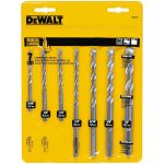 DeWalt Rapid Load 石工用ドリルビット7点セット (DW5207) / DRILL BIT SET 7PC