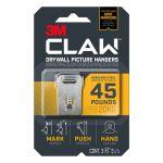 3M Claw ピクチャーハンガー シルバー 3個入 (3PH45M-3ES) / PICTUR HNGR SLV 45LB 3PK